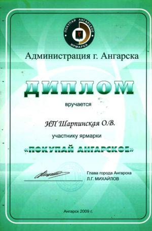Покупай ангарское 2009 1