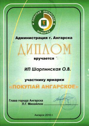 Покупай ангарское 2010 1